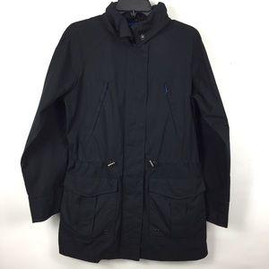 Gap Mens SM Jacket W/ Hood Many Pockets Polyester